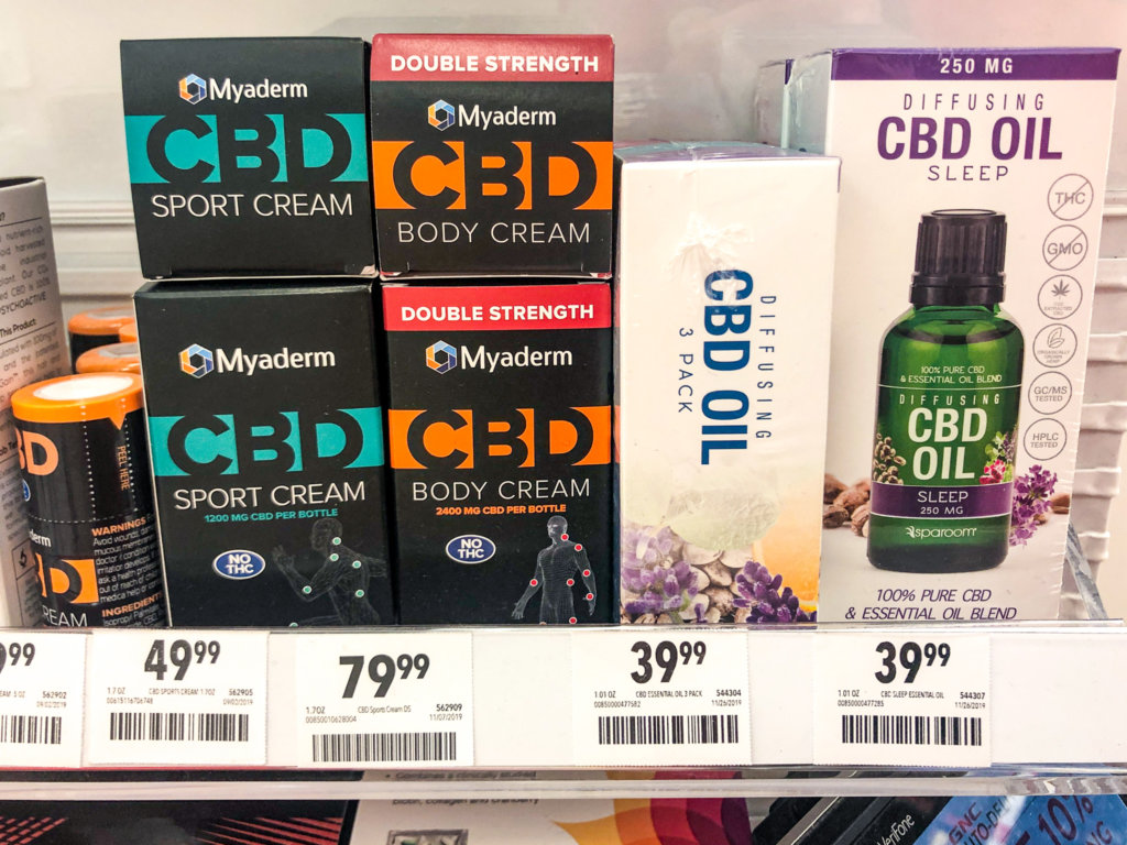 CBD is one of the 2020 food trends.